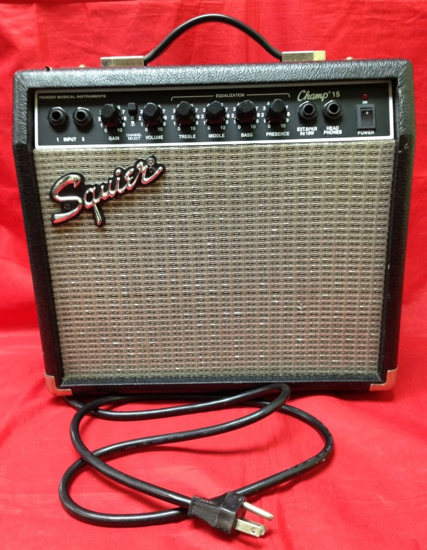 FENDER Electric Guitar Amp SQUIER CHAMP 15 PR-408