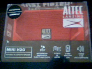 ALTEC LANSING Speakers MINI H2O SPEAKER