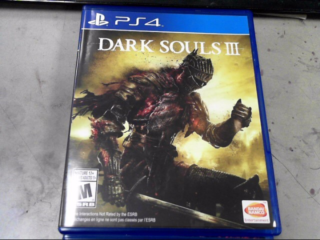 SONY Sony PlayStation 4 Game PS4 DARK SOULS III