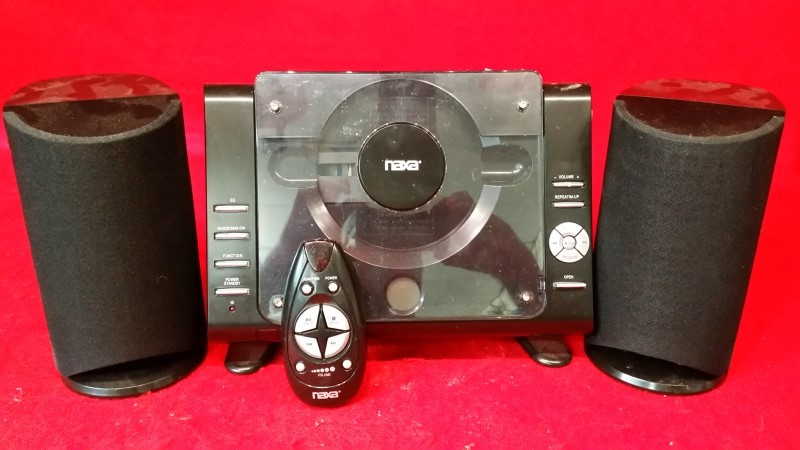 Naxa NS-435 Digital MP3/CD Microsystem with AM/FM Radio