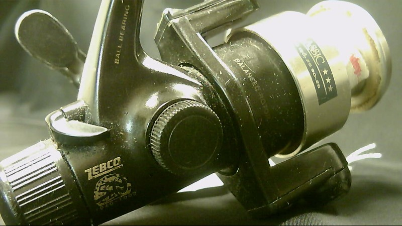 Zebco 50 Classic Fishing Reel Black