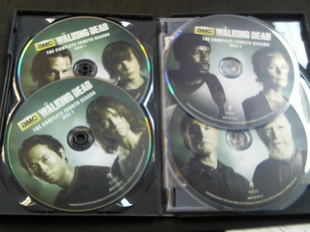 DVD BOX SET DVD THE WALKING DEAD SEASON 4