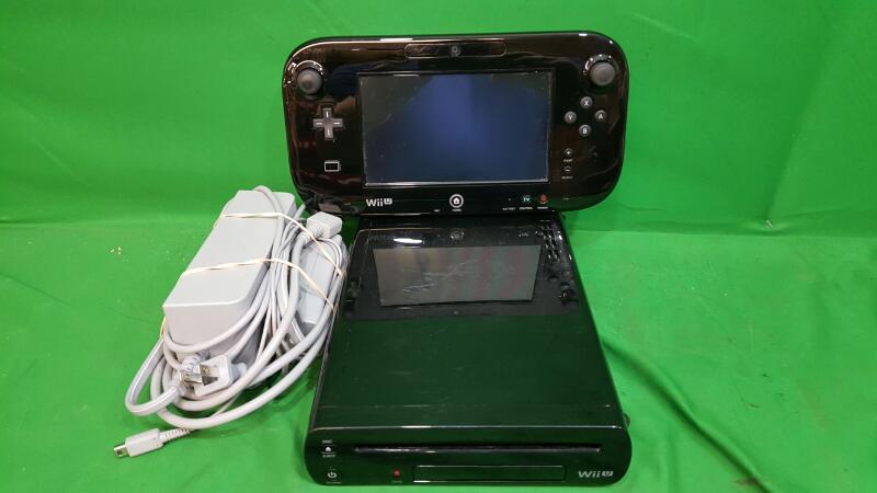 Nintendo Wii U Black 32GB WUP-101(02) Console