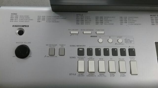 YAMAHA Piano/Organ PORTABLE GRAND DGX-230