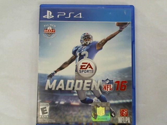 SONY Sony PlayStation 4 Game MADDEN 16 - DELUXE EDITION 50TH - PS4