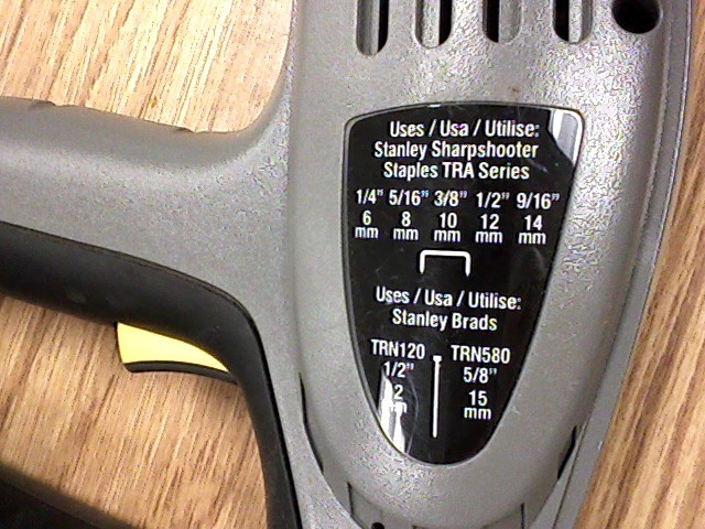 STANLEY Nailer/Stapler TRE550 ELECTRIC STAPLER