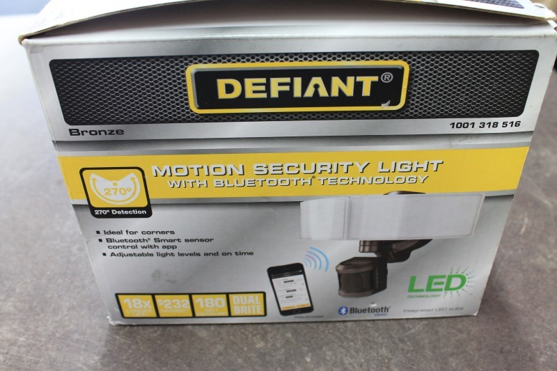 DEFIANT MOTION SECURITY LIGHT BLUETOOTH