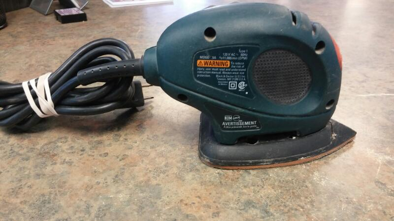 BLACK & DECKER Vibration Sander MS500