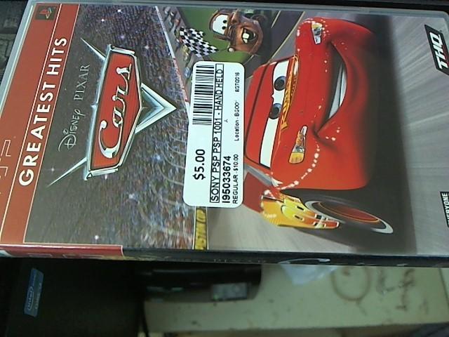 Disney Pixar Cars - PSP GAMES