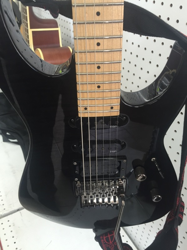 M-103FM GUITAR-ELECTRIC LTD BY ESP   BLACK