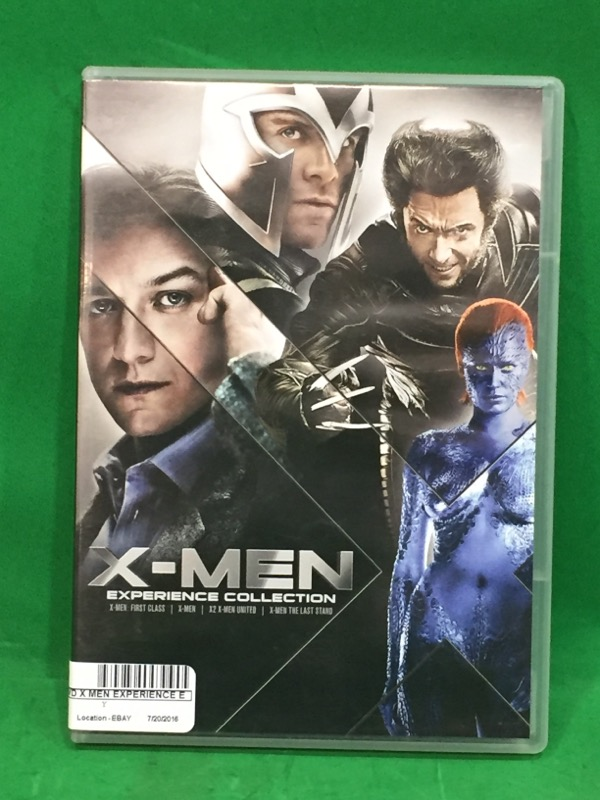 X-Men: Experience Collection DVD(X-Men, X2: X-Men United, X-Men: The Last Stand