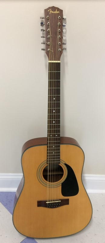 FENDER DG-10-12 DREADNOUGHT 12-STRING