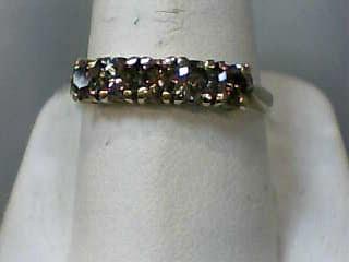 Lady's Gold-Diamond Anniversary Ring 5 Diamonds 1.00 Carat T.W. 14K Yellow Gold