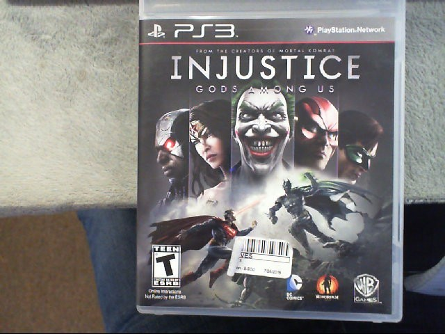 SONY Sony PlayStation 3 Game INJUSTICE GODS AMONG US