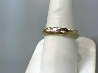Gent's Gold Wedding Band 14K Yellow Gold 3dwt Size:8