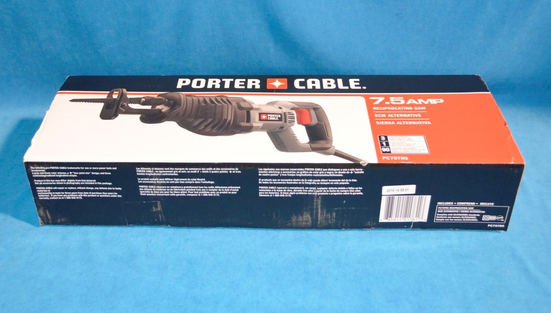PORTER CABLE Reciprocating Saw PC75TRS