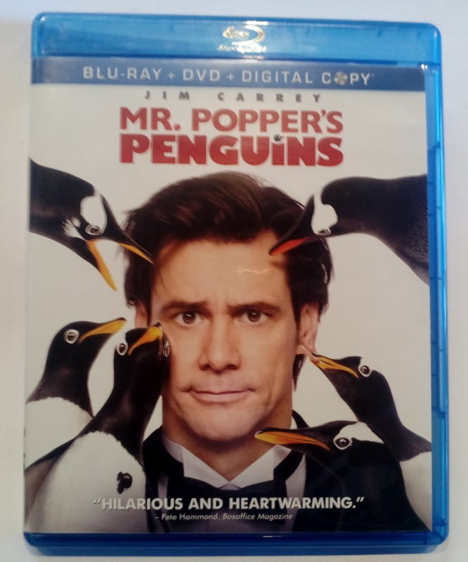 BLU-RAY MOVIE MR. POPPERS PENGUINS