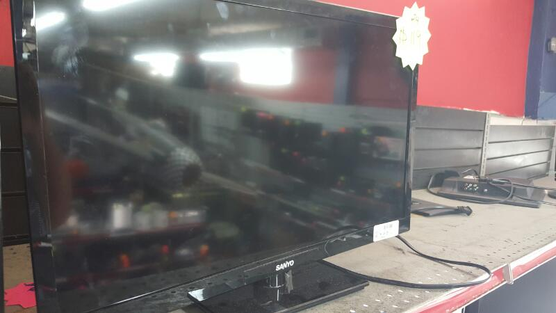 DP24E14 LCD TV SANYO   BLACK