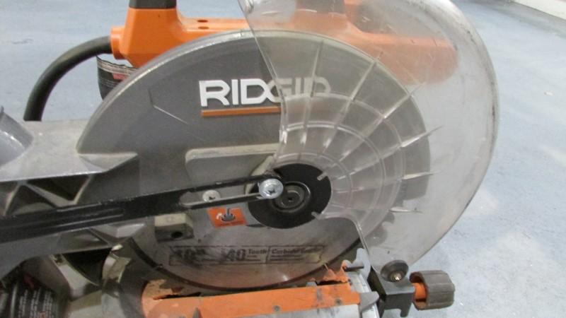 RIDGID TOOLS Miter Saw R4110 MITRE SAW
