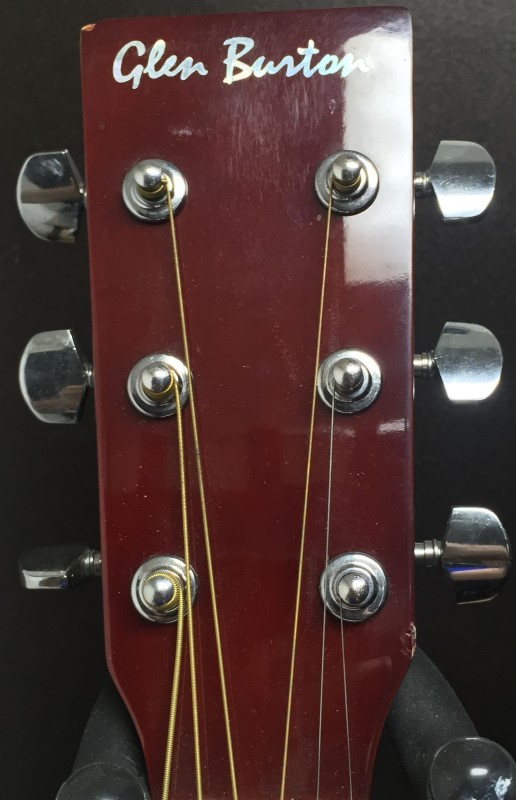 GLEN BURTON Acoustic Guitar GA101-NT ACOUSTIC GUITAR