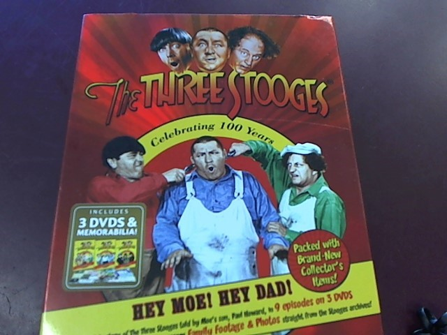 THE THREE STOOGES CELEBRATING 100 YEARS DVD COLLECTOR'S SET