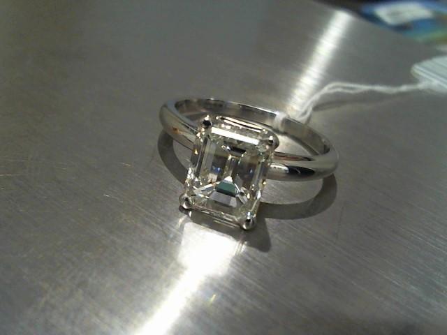Lady's Platinum-Diamond Solitaire 3.00 CT. 950 Platinum 2.7g
