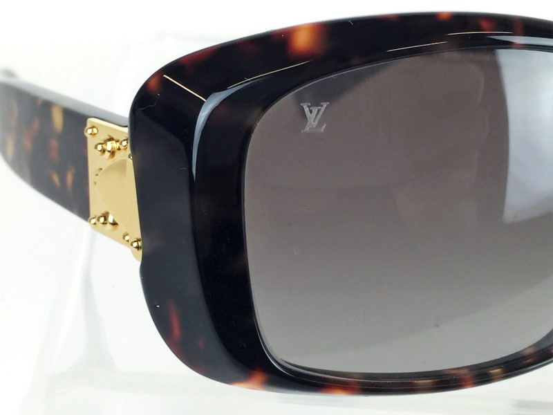 LOUIS VUITTON TORTOISESHELL PATTERN WOMENS SUNGLASSES