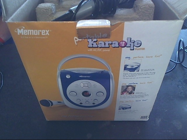 MEMOREX Portable CD Player MKS2115NBL