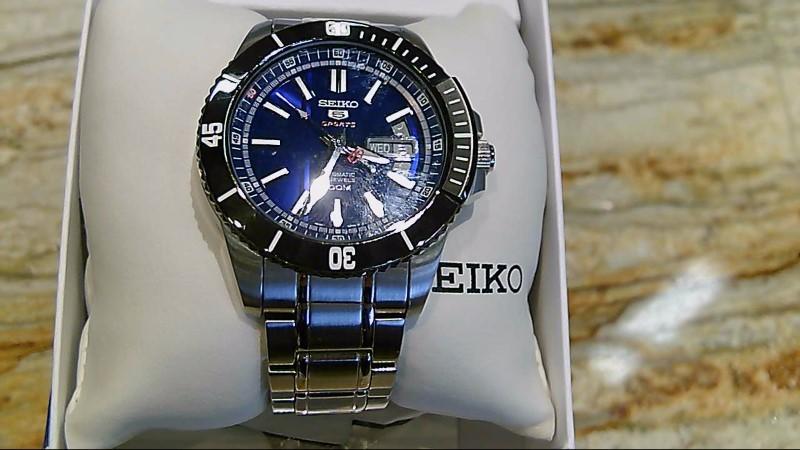 SEIKO Gent's Wristwatch 5 SPORTS 4R-36