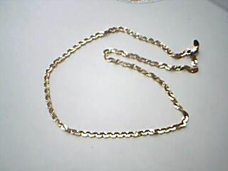 "18"" Gold Fashion Chain 14K Yellow Gold 5.36g"