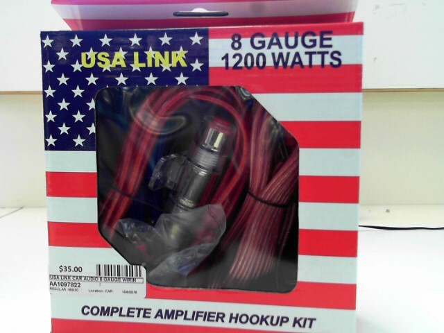USA LINK Car Audio 8 GAUGE WIRING KIT