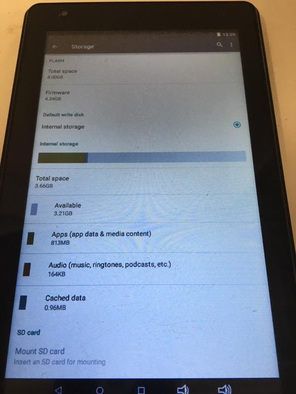 RCA Tablet TABLET RCT6773W22B