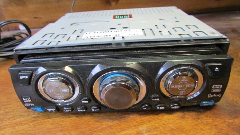 DUAL ELECTRONICS CAR AUDIO CD770