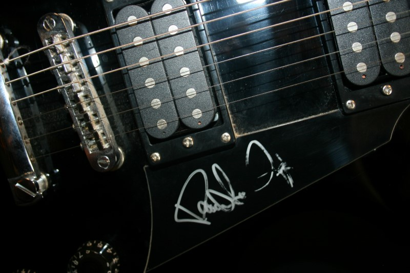 Paul Stanley Washburn Autographed Guitar By Lyon