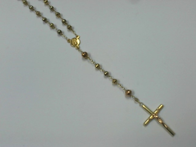 "26"" Gold Fashion Chain 14K Tri-color Gold 21g"
