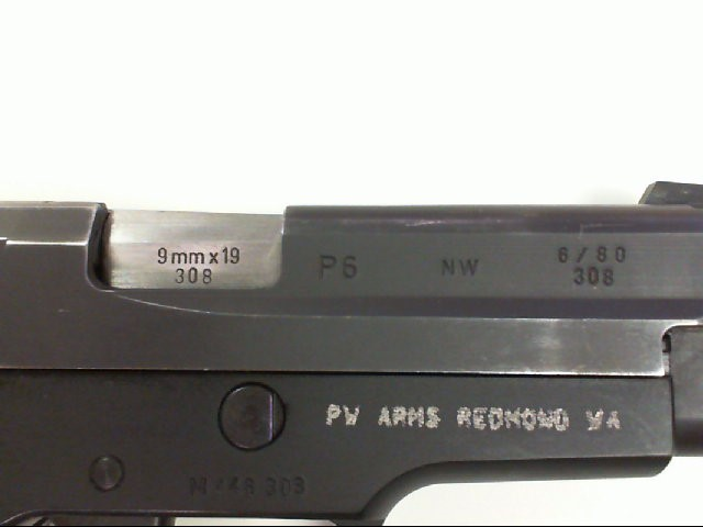 SIG SAUER Pistol P6
