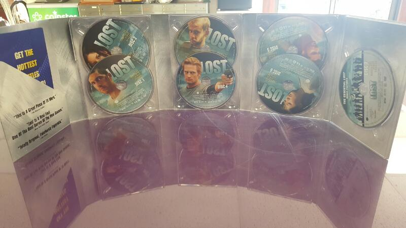 Lost: The Complete First Season 1 - (DVD Box Set, 2005, 7 Disc Set)
