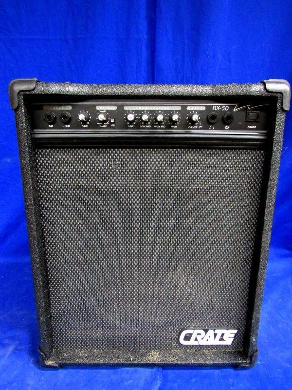 CRATE BX-50 PERSONAL BASS AMP