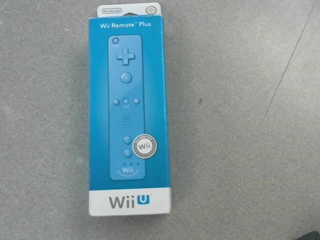 NINTENDO Video Game Accessory WII U REMOTE PLUS
