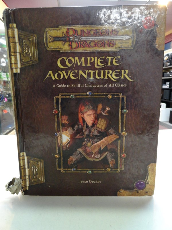 Dungeons & Dragons - Complete Adventurer Book