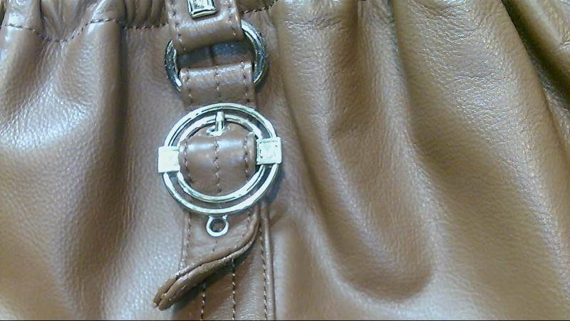 Lady's Stone Mountain stowaway brown handbag