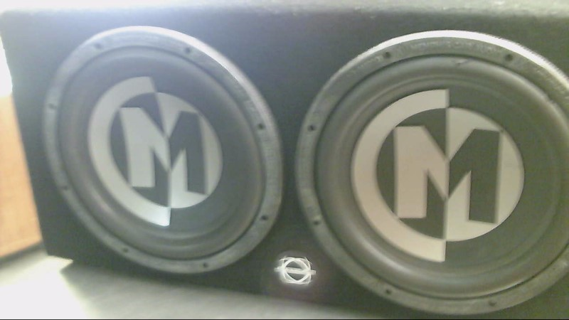 "MEMPHIS AUDIO Car Speakers/Speaker System 12"" IN BOX"