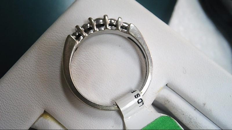Lady's Diamond Wedding Band 5 Diamonds .50 Carat T.W. 14K Yellow Gold 3.5g