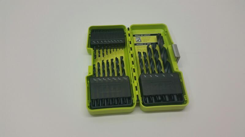 RYOBI Drill Bits/Blades 21PC DRILL BIT SET