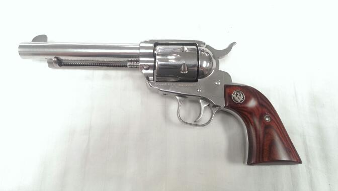 "Ruger - New Vaquero - .45 LC - Stainless 5.5"" Barrel"