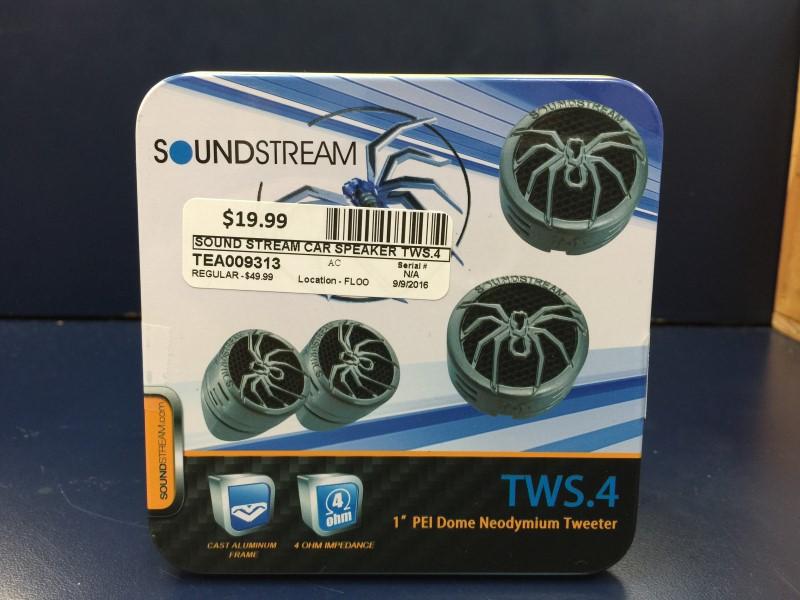 SOUND STREAM TWS.4 TWEETERS