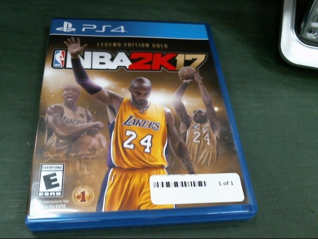 SONY Sony PlayStation 3 Game NBA 2K17 EARLY TIP OFF - PS4