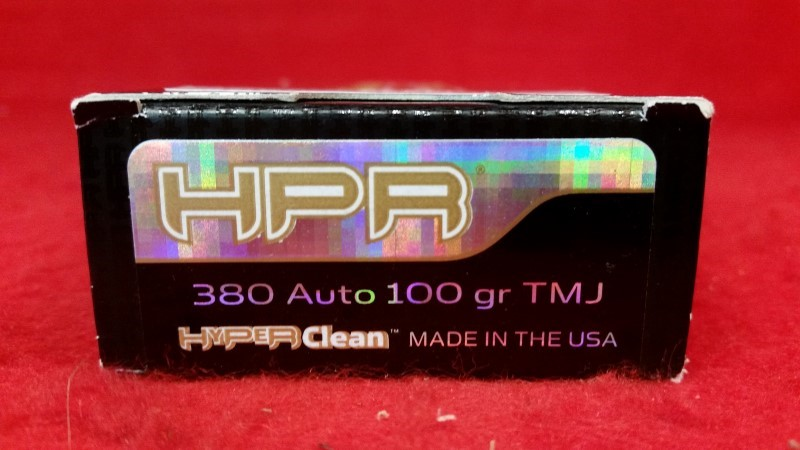 HyperClean 380acp 100gr TMJ Ammo - 50 Rounds
