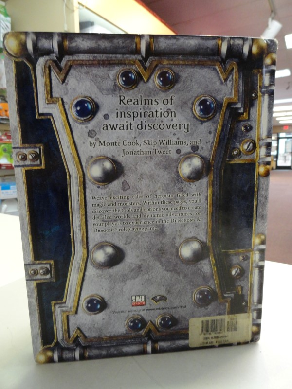 Dungeons & Dragons - Dungeon Master's Guide - Core Rulebook II V 3.5