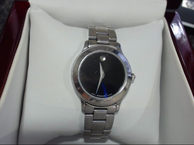 MOVADO Lady's Wristwatch SILVER MUSEUM LDS WATCH